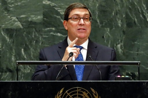 "Bruno Rodriguez Speech at the UN: ""Economic Aggression, Threats and Blackmail will not Take Away a Single Concession"""