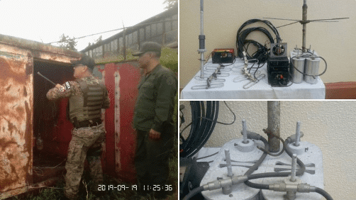 A Rastrojos' Telecommunications Base Dismantled in Tachira State