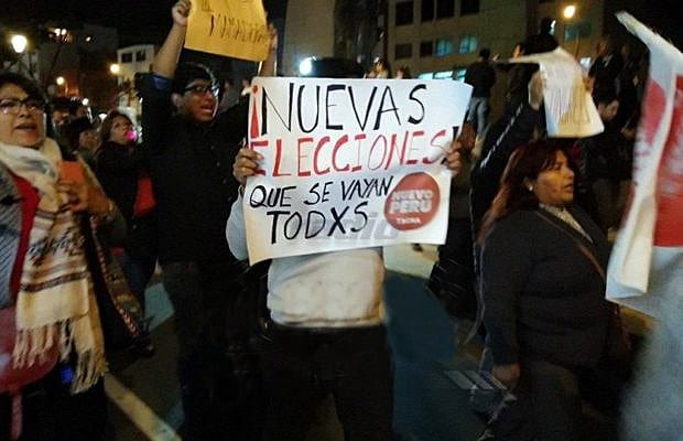 Citizens' Demands Step Up in Peru