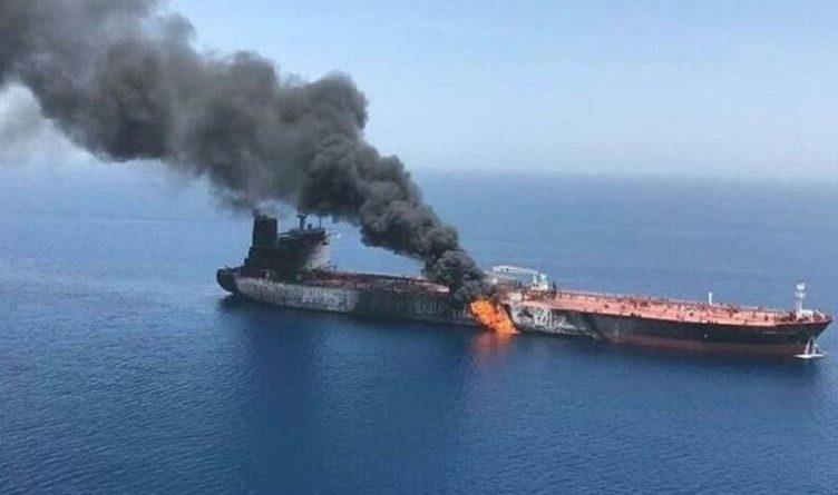 Iranian Oil Tanker Targeted by Two Missiles Off the Saudi Coast