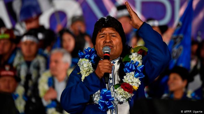 Evo Morales Wins Bolivia's Presidency in the 1st Round with Updated Results (Opposition Promoting Violence)