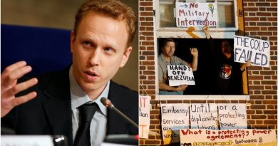 """""""Political Persecution"""": Max Blumenthal Arrested in DC Police Raid, Held for 2 Days on Phony Charges Over Venezuela Embassy Siege"""