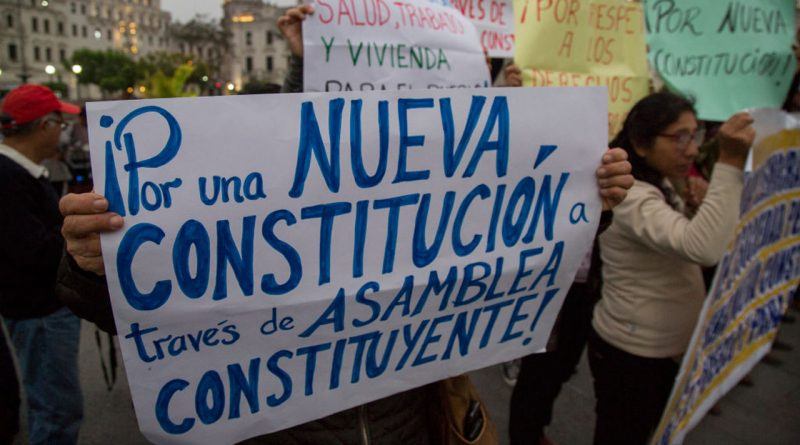 Peru's Constitutional Crisis Cuts Deep Due to Endemic Corruption