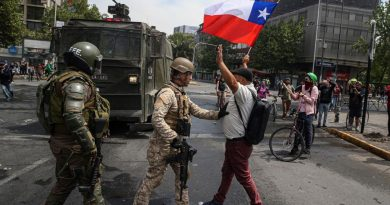 Chile Under Protests, Looting, Curfew and Massive Repression (Images + Videos)