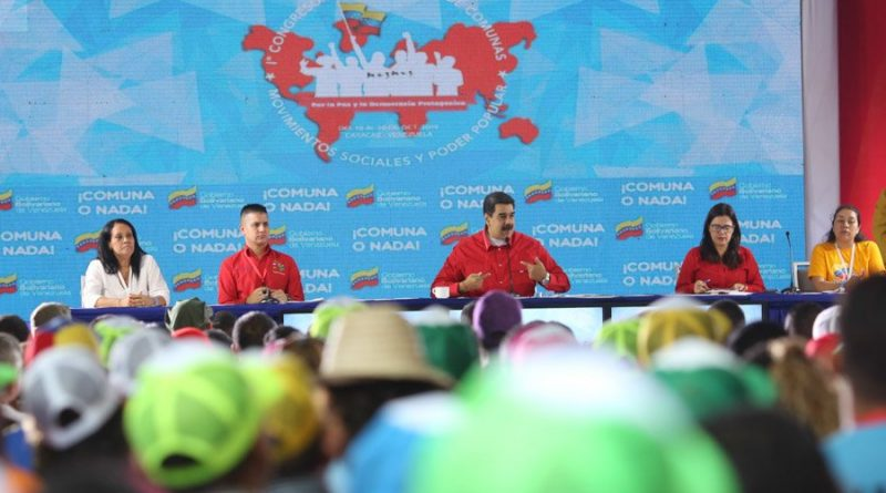 Maduro Closed the 1st International Congress of Communes: Community Councils Serve More Than 6 Million Families (Video)
