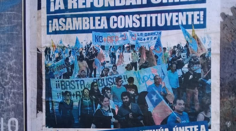 Chile: They Convene a Constituent Assembly Amid Demonstrations Against Piñera