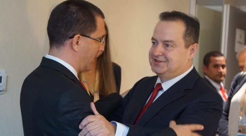 Chancellor Arreaza Strengthening Relations with Serbia (Video)