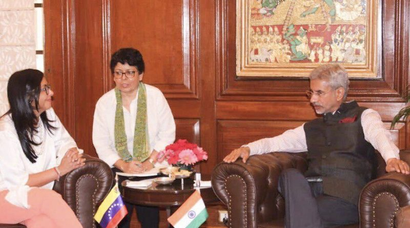 Venezuela Deepens Bilateral Cooperation Ties with India