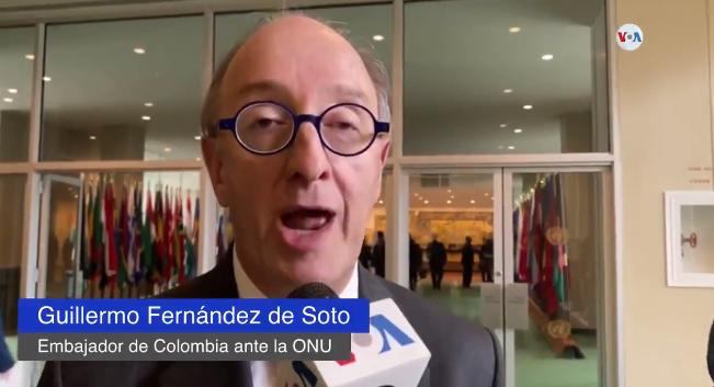 "Upside Down World: Colombian Ambassador Very Affected by Venezuela's UN Victory - ""Venezuela has no Authority to be in the UN Human Right Council"" (Yes, Colombian Right Lecturing on Human Rights)"