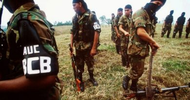 Another Propaganda Maneuver From Colombia: The Paramilitaries of the AUC