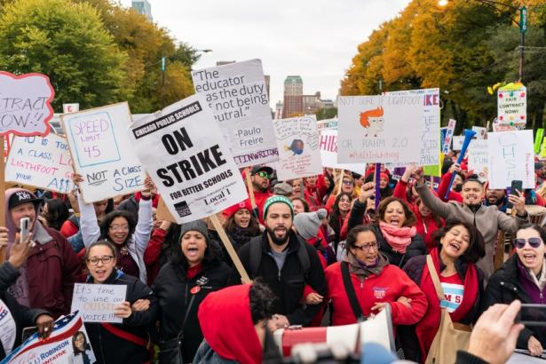 Over the Last Week, At Least 85,000 Workers Were Out on 13 Different Strikes