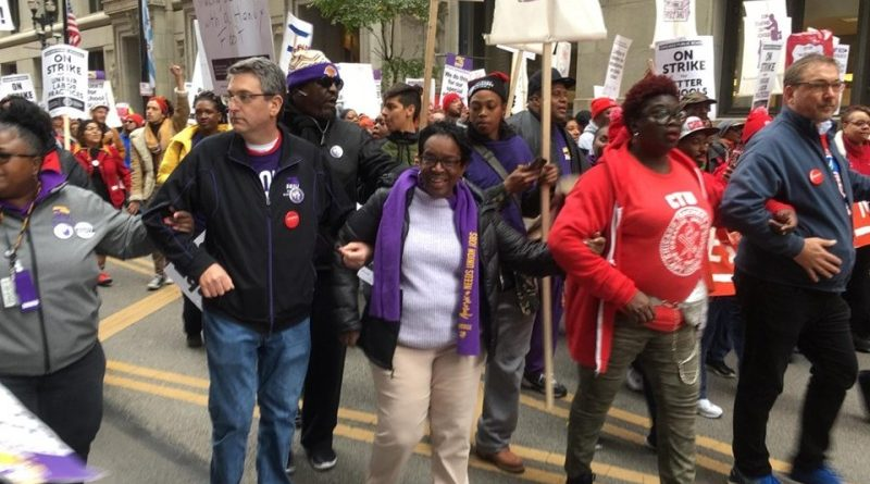 First Day of Chicago Public Schools Strike