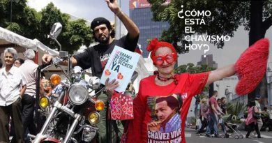 Che and Little Red Riding Hood confess, disillusioned or still with Chavismo?