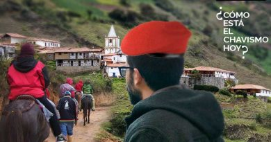 Is Chavismo still Sweeping the Highest Town in Venezuela? Los Nevados Tells its Story