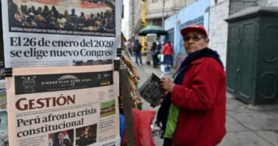 Press and OAS's Differential Treatment to Venezuela vs. Crisis in Peru and Ecuador?