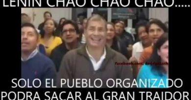 """Lenin, Chao, Chao, Chao"": Rafael Correa's New Song Dedicated to the President of Ecuador (Video)"