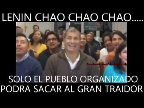 """Lenin, Chao, Chao, Chao"": Rafael Correa's New Song Dedicated to the President of Ecuador (Video)"