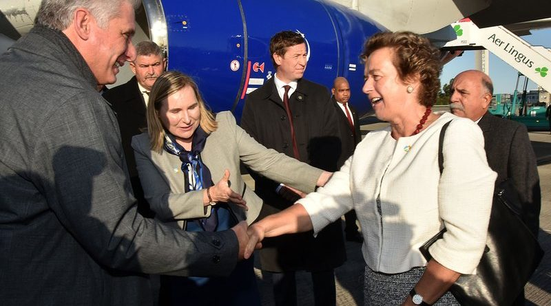 Cuban President Miguel Díaz-Canel Makes History with Irish Visit