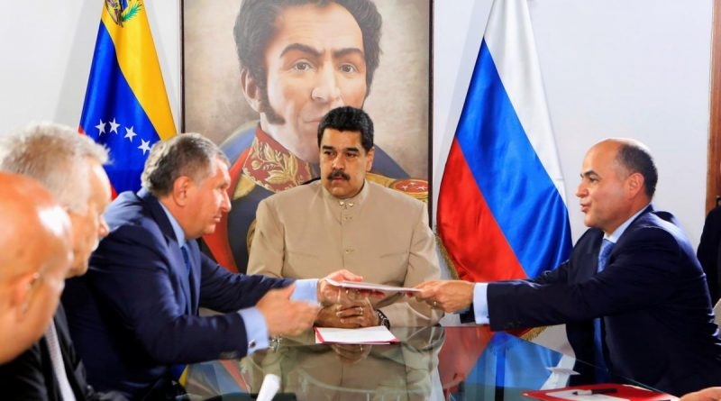Venezuela: Opposition Demands Bond Annulment, Gov't Grants Rosneft Tax Breaks