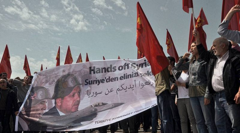 Communist Party of Turkey: 'Hands off Syria!'