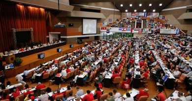 Closing of the Anti-Imperialist Meeting of Solidarity for Democracy and against Neoliberalism in Cuba