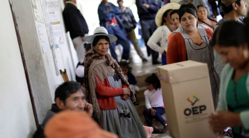 The Fraud Behind the Idea of Fraud in Bolivia's Elections