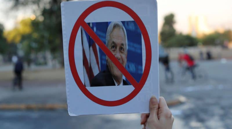 Chilean President's Approval Falls Under 10% After Protests