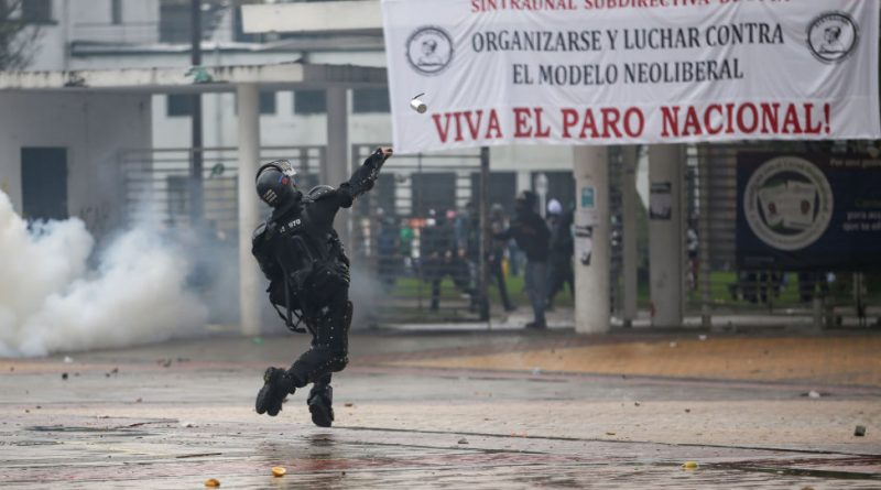 Is Colombia Exploding? In some Cities November 21 is Not Over Yet - State Terrorism?