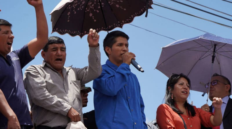 This is the Cocalero Leader Who Could Replace Evo Morales in Bolivia (Interview)