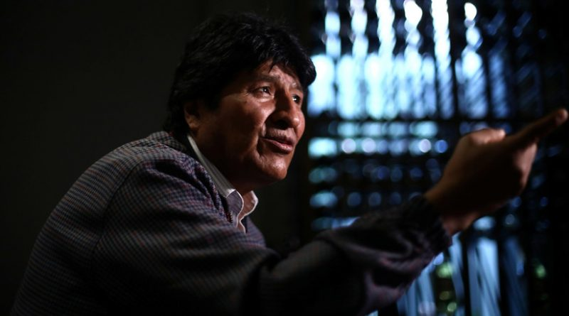 """Evo Morales: """"US Offered me a Plane to Leave Bolivia but I was Sure They Would Take me to Guantanamo"""""""
