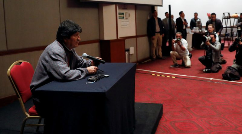 """Evo Morales: """"Nationalization of Resources is Conflict's Cause""""- """"They do Not Accept that Indians Govern"""""""