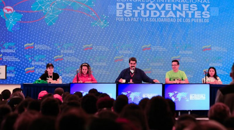 President Maduro Closed the International Congress of Youth and Students (Video)