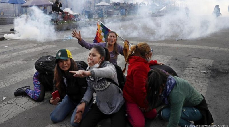 Bolivia: 31 Dead During Repression