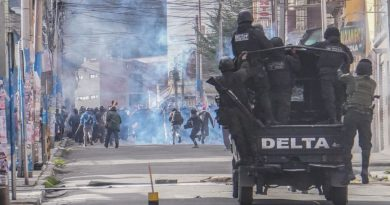 A Coup in Bolivia, Yet Again