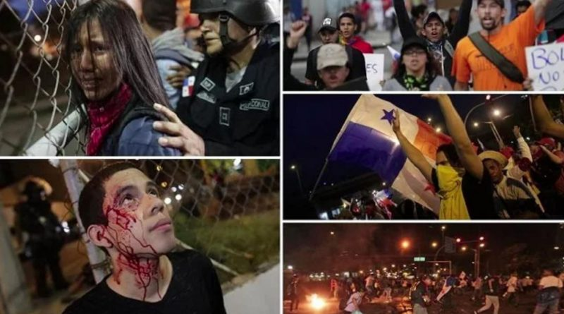 Panama: Youth and the People also Spoke Clearly - No to Constitutional Reforms Package!