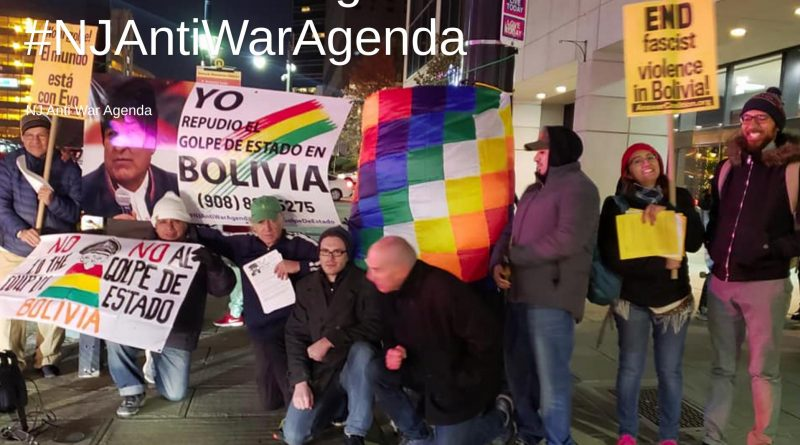 "New Jersey Says ""No More Coups!"" - ""Comite Bolivia NJ"" Formed"