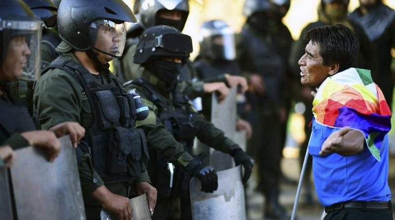 Videos of Repression in Bolivia: Six Dead in El Alto and More Than 20 Injured