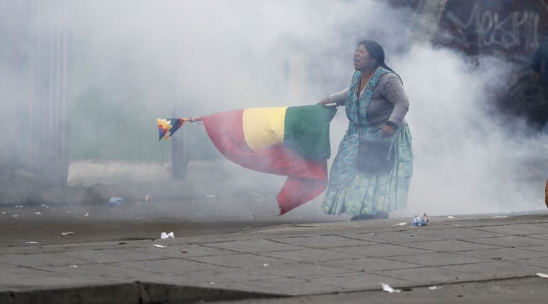 Ten Dead in Bolivia Reported, Eight by Gun Shots