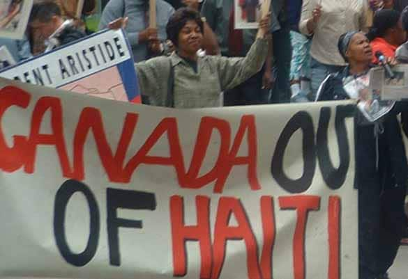 Haitian Canadian Tells Canada to Get Out of Haiti