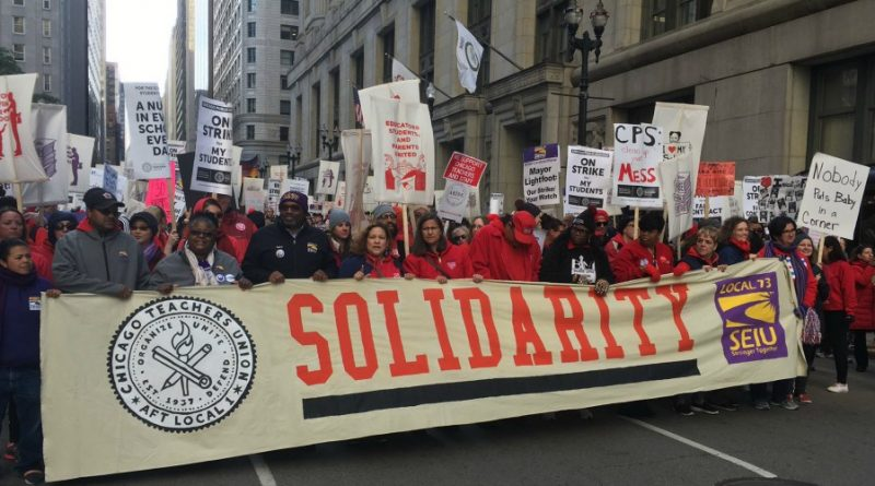 Interview with Sarah Chambers on the CTU Strike