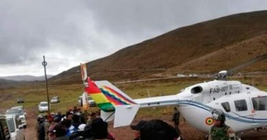 Evo Morales' Helicopter Makes Emergency Landing