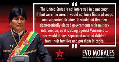 Evidence Talks: US Government Propelled Coup in Bolivia