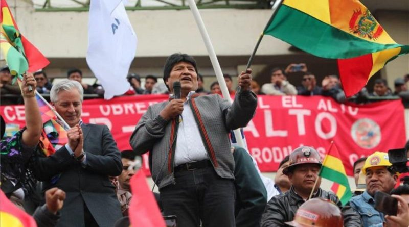 Defend the People of Bolivia and Latin America