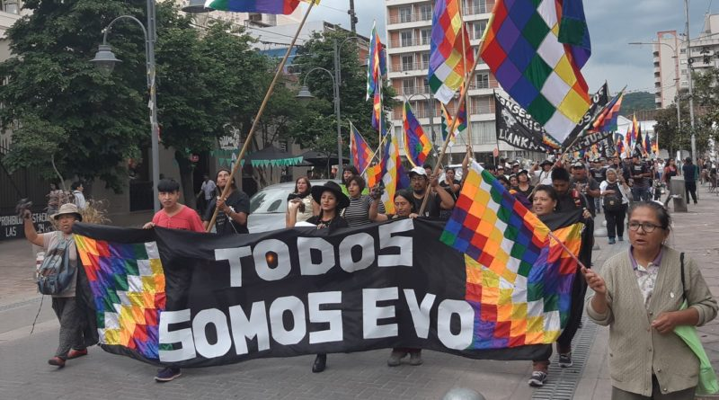 The pro-Evo Upheaval in Bolivia: How is it Affecting the Canadian Political Scene?