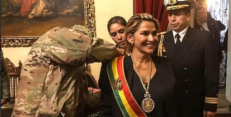 Interim Añez Angry at Not Being Invited to Alberto Fernández's Inauguration