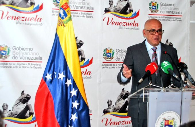 """Minister Jorge Rodríguez Urges European Governments to Disengage From Guaido: """"70 Opposition Deputies Demand Clarification on Funds Misuse"""" - Maduro Says Jail Awaits Him"""