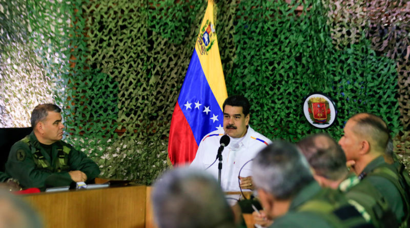 "Maduro Alerts of Possible ""Provocations"" from Colombia and the US Southern Command on the Border"