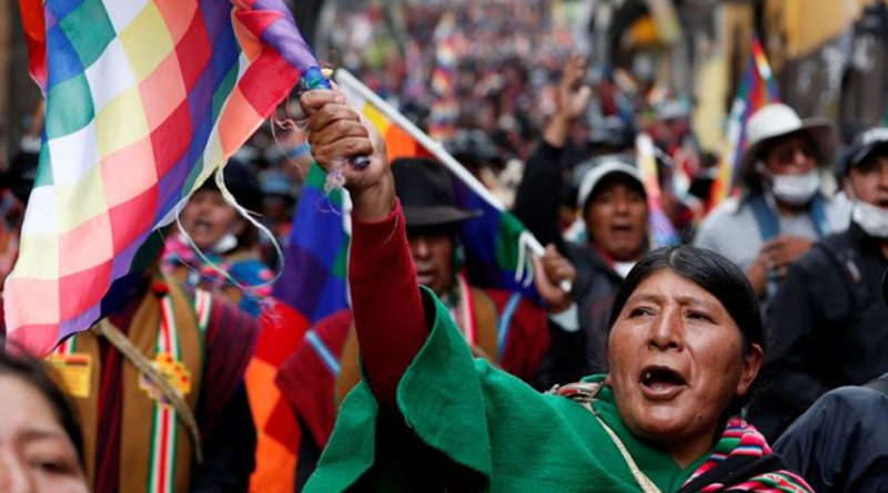 Bolivia: the 21st Century Coup d'État and its Crimes Against Humanity
