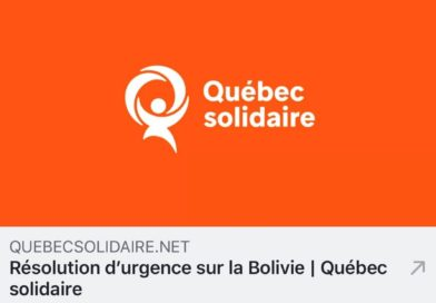 Evo and Eduardo Galeano in … Quebec!