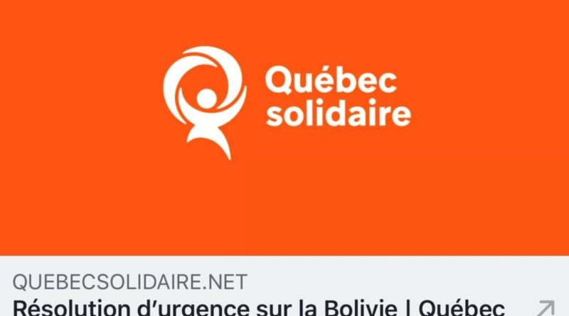 Evo and Eduardo Galeano in … Quebec!